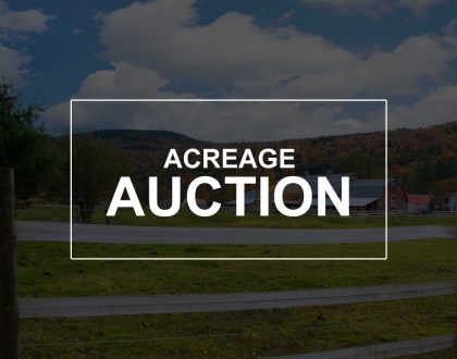 acreage auction