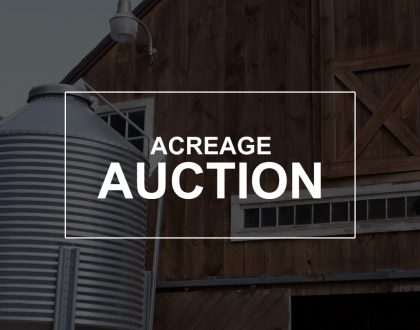 acreage auction