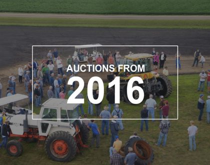 auctions from 2016