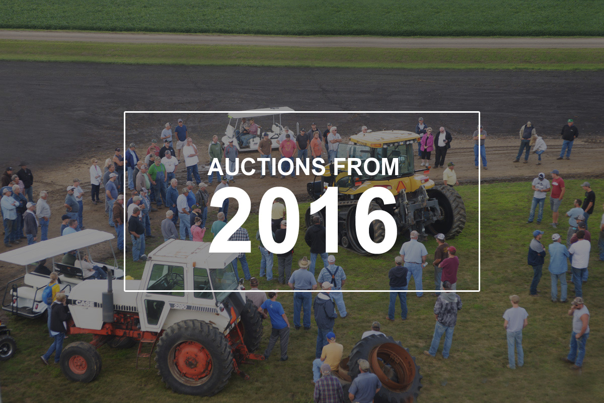 THE AUCTION METHOD SETS THE MARKET IN 2016!